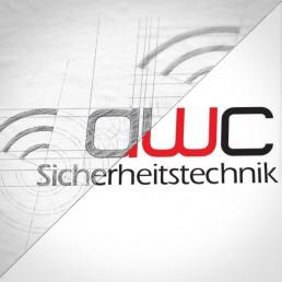 Logo Design awc Sicherheitstechnik